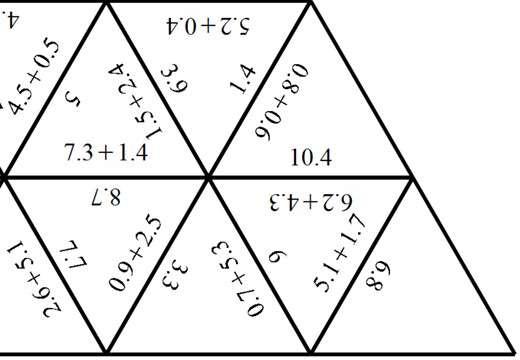 1 Digit Decimals - Adding - Spot the Mistake