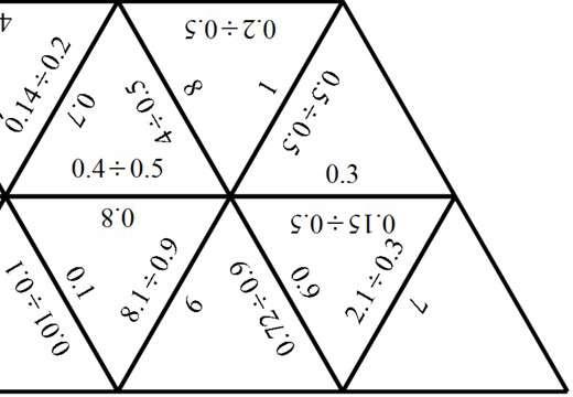 1 Digit Decimals - Dividing - Spot the Mistake