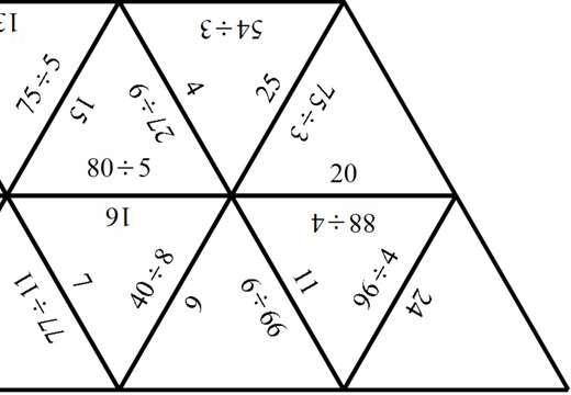 2 Digit Integers - Dividing - Spot the Mistake