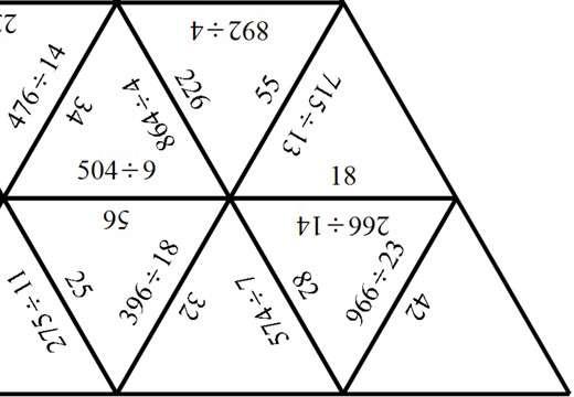 3 Digit Integers - Dividing - Spot the Mistake