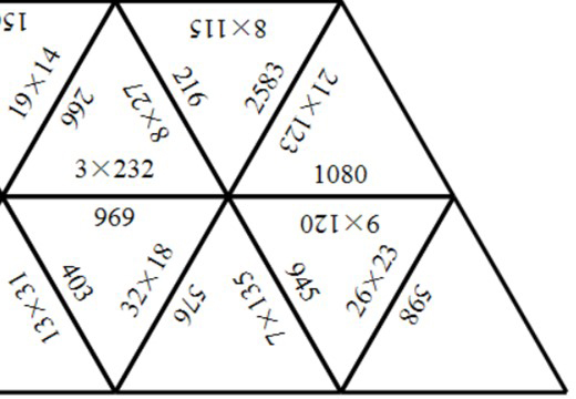 3 Digit Integers - Multiplying - Tarsia