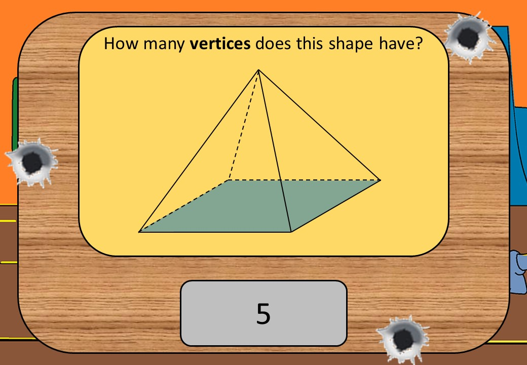 3D Shape - Vocabulary - Shootout