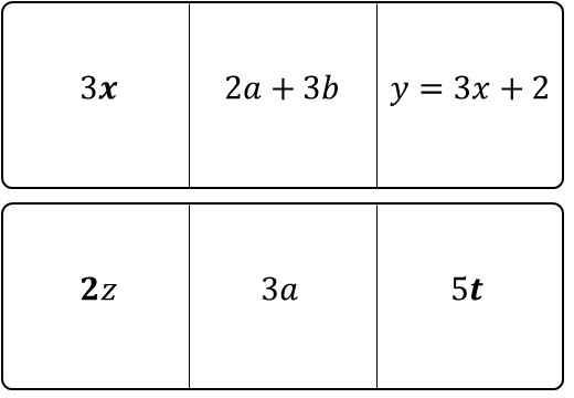 Algebra - Definitions - Snap