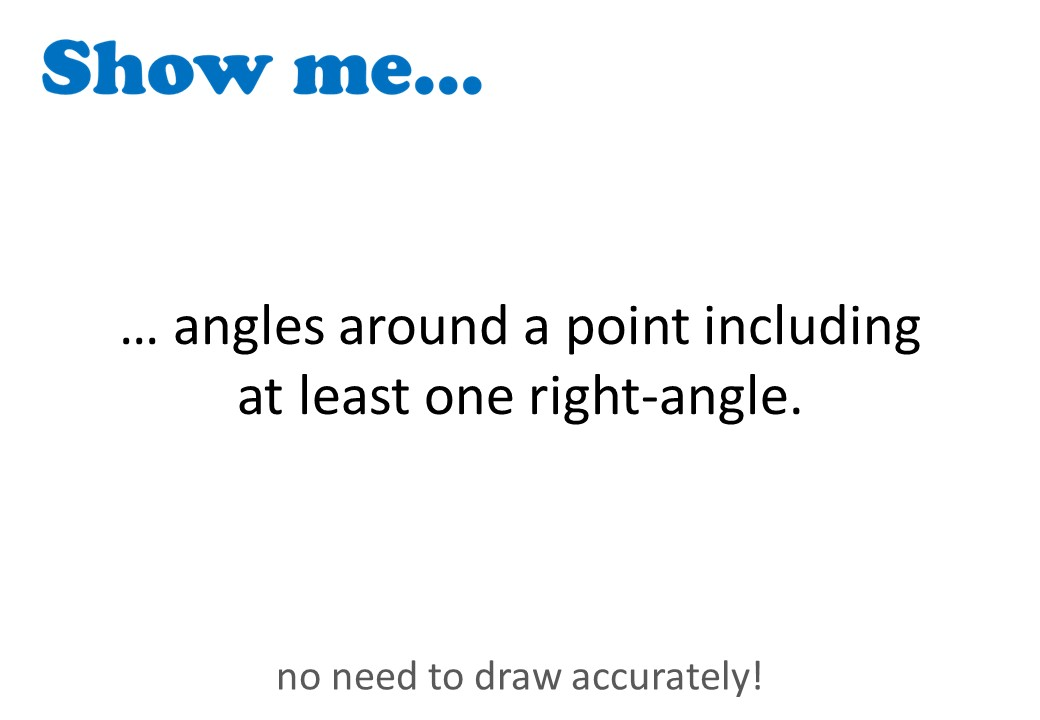 Angle Facts - Mixed - Show Me