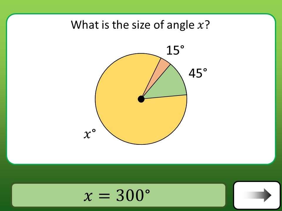 Angles - Around a Point - Car Race