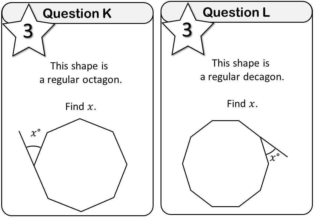 Angles - Polygons - Mixed - Messenger
