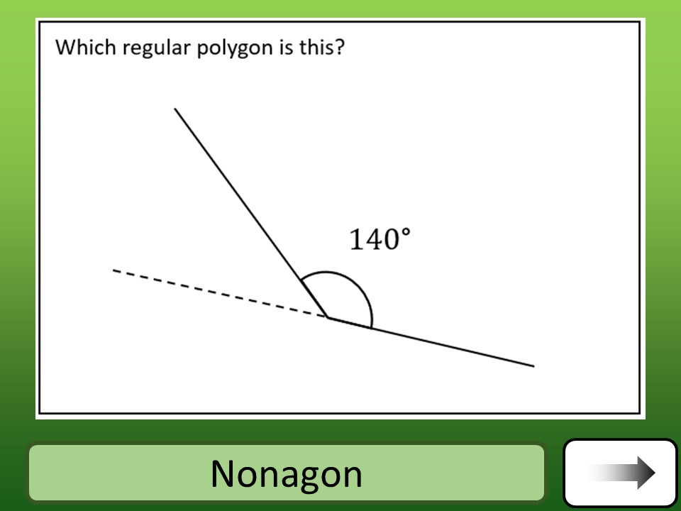 Angles - Regular Polygons - Car Race