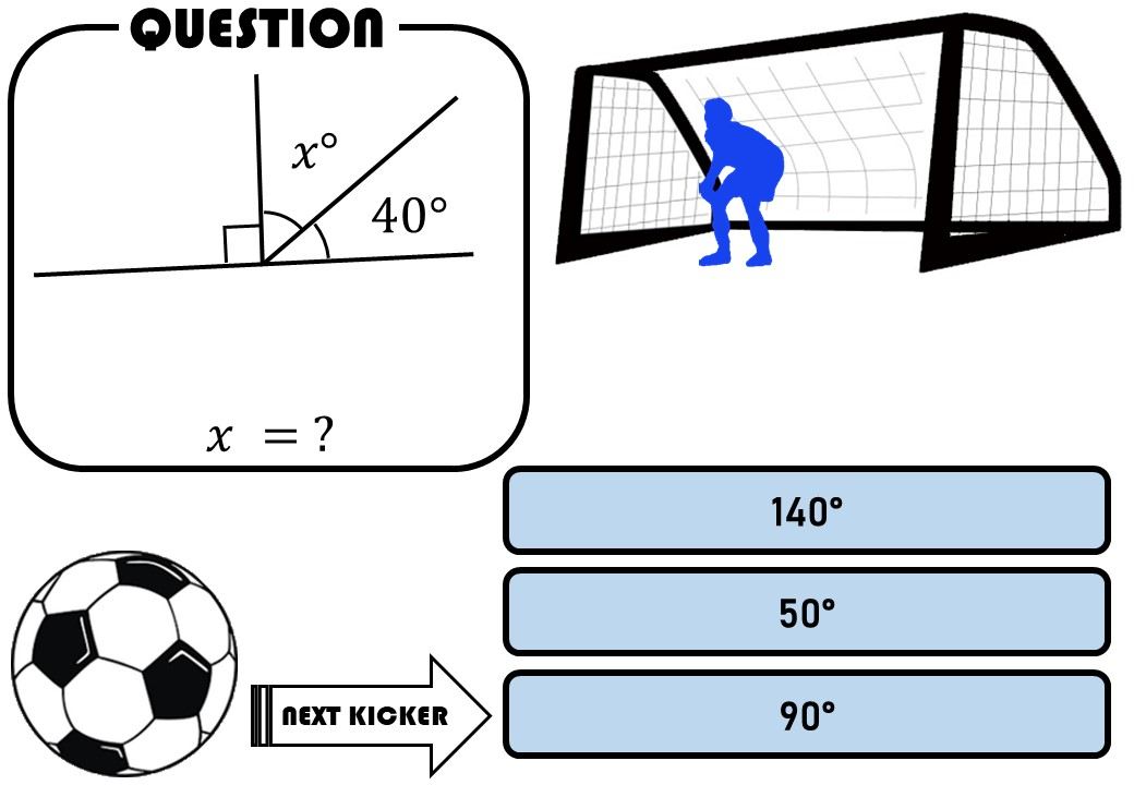Angles - Straight Line - Penalty Shootout