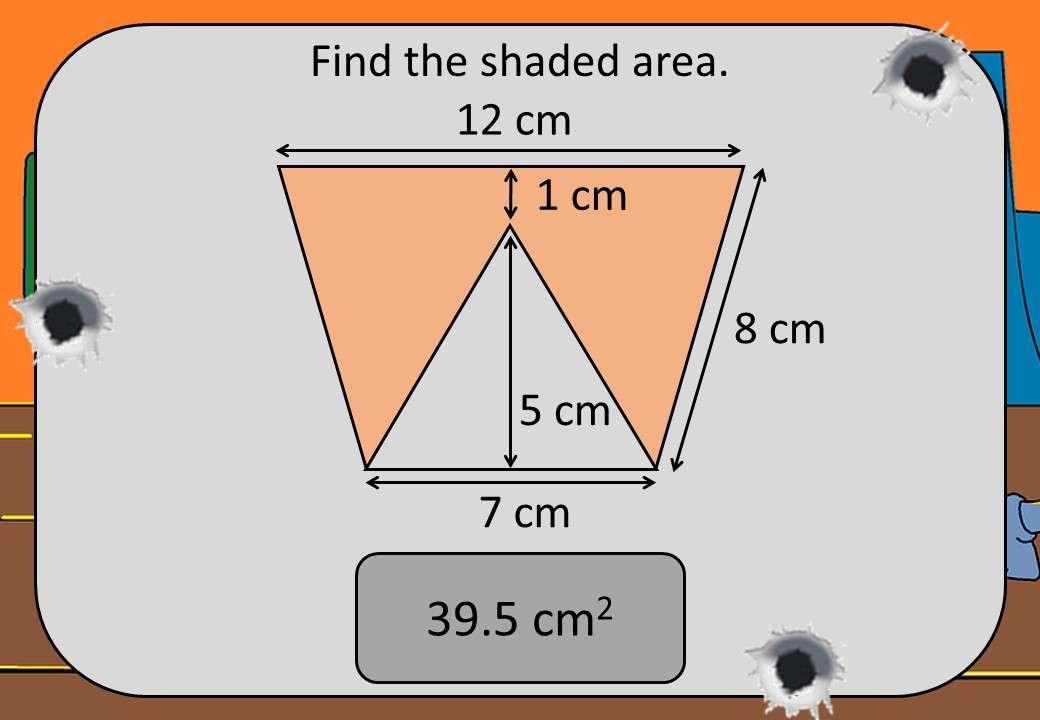 Area & Perimeter - Polygons & Circles - Shootout