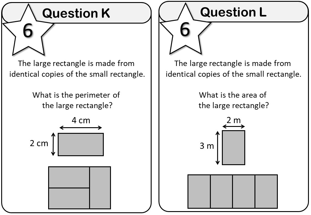 Area & Perimeter - Rectangle - Messenger