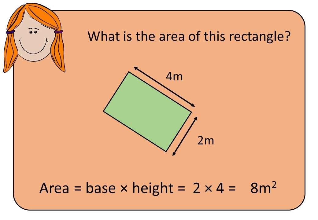 Area - Rectangle - Bingo M