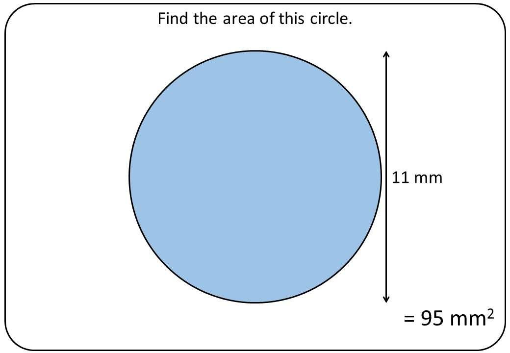 Circle - Area - Bingo OA