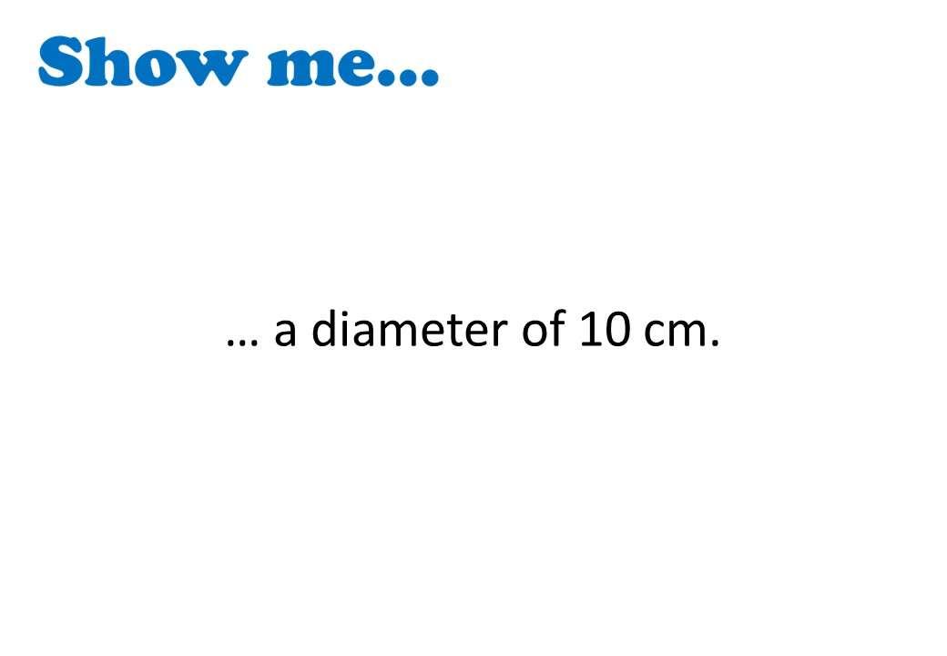 Circle - Vocabulary - Show Me