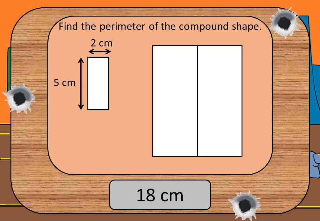 Compound Shapes - Area & Perimeter - Shootout