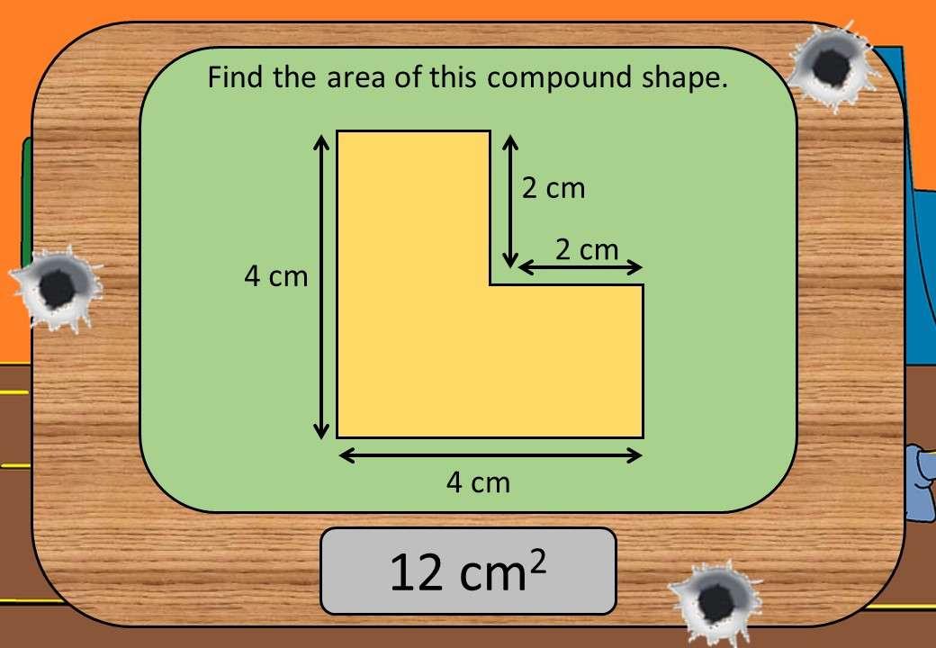 Compound Shapes - Area - Shootout