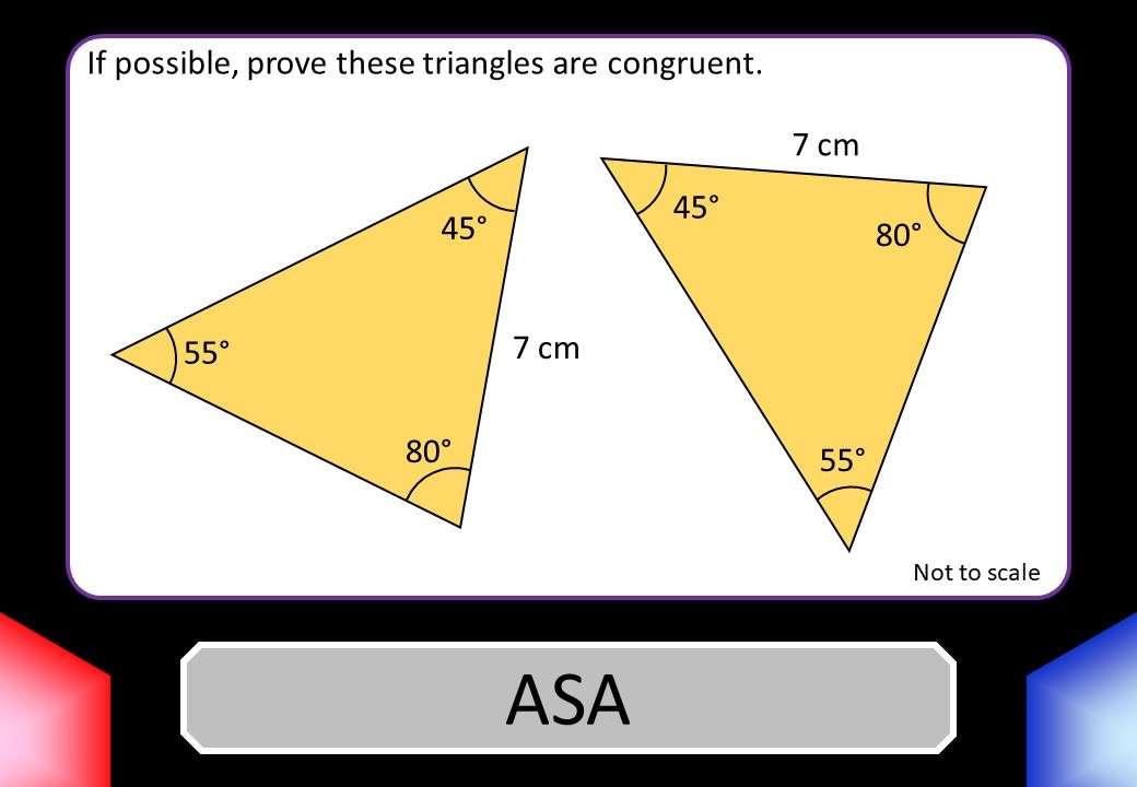 Congruent Triangles - Blockbusters
