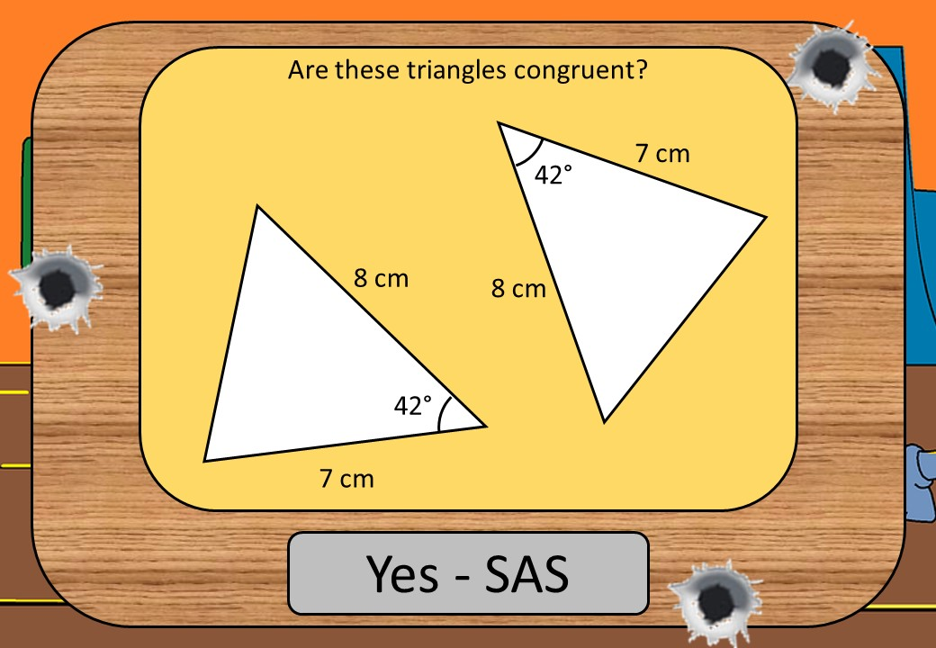 Congruent Triangles - Shootout