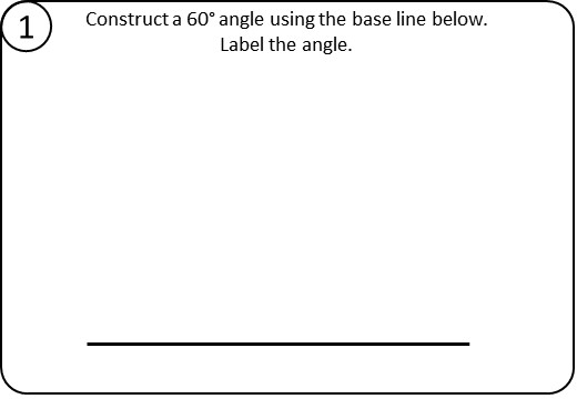 Construction - Angles - Relay Race