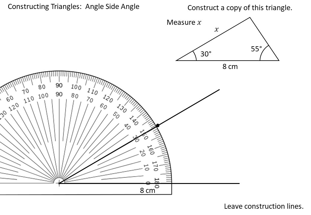 Construction - Triangles - Demonstration