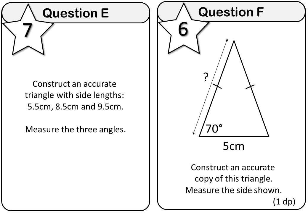 Construction - Triangles - Messenger
