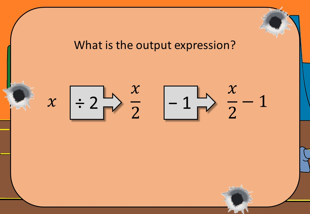 Converting Function Machines & Expressions - Shootout