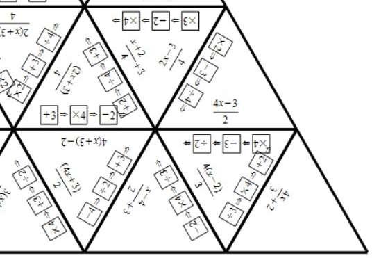 Converting Function Machines & Expressions - Tarsia B