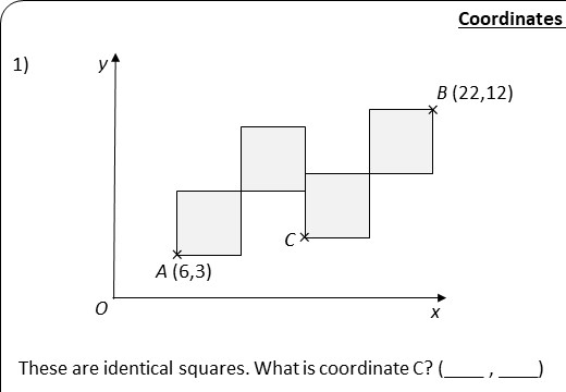 Coordinates & Geometry - Worksheet A