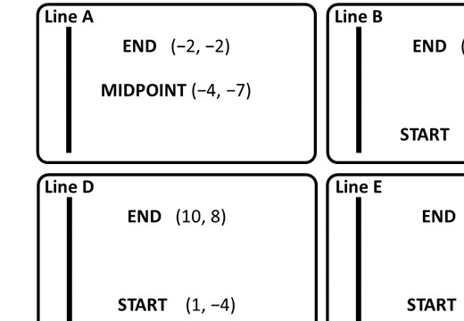 Coordinates - Midpoint - Card Match