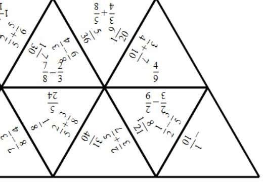 Fractions - Adding & Subtracting - Tarsia