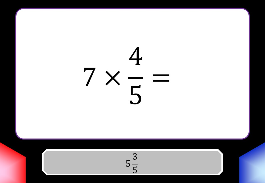 Fractions - Arithmetic With Integers - Blockbusters