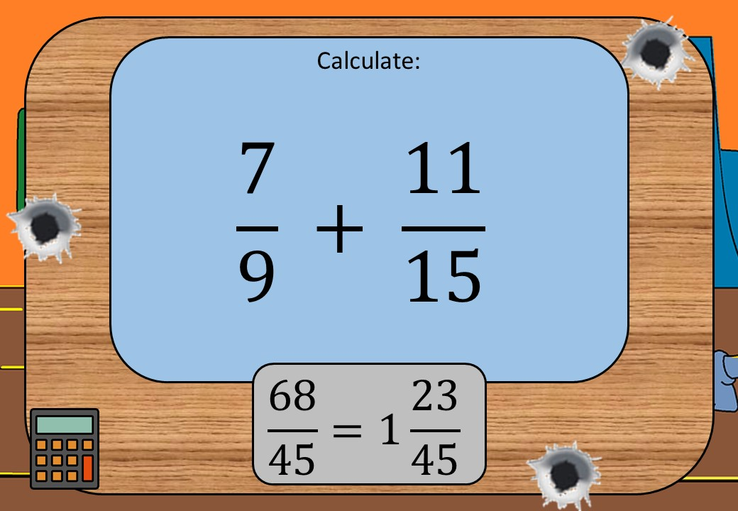 Fractions - Calculator - Shootout