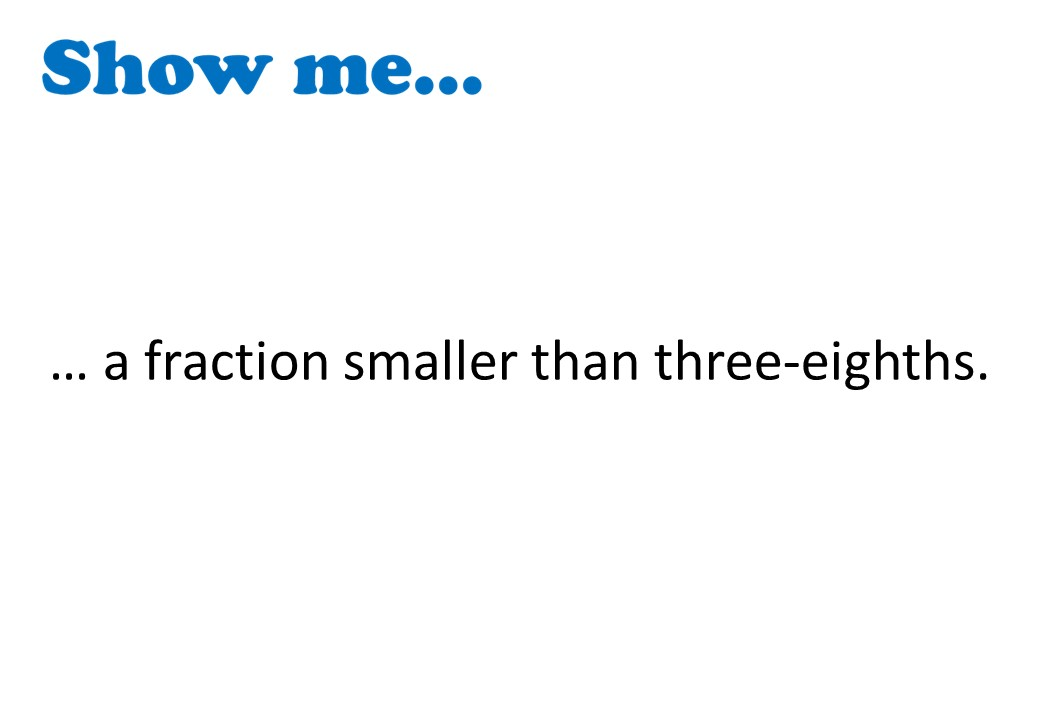 Fractions - Introduction - Show Me