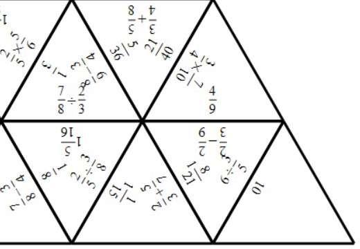 Fractions - Mixed - Tarsia
