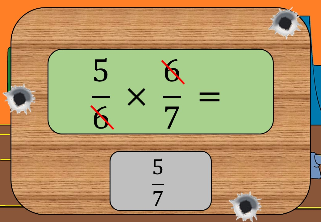 Fractions - Multiplying & Dividing - With Cancelling - Shootout