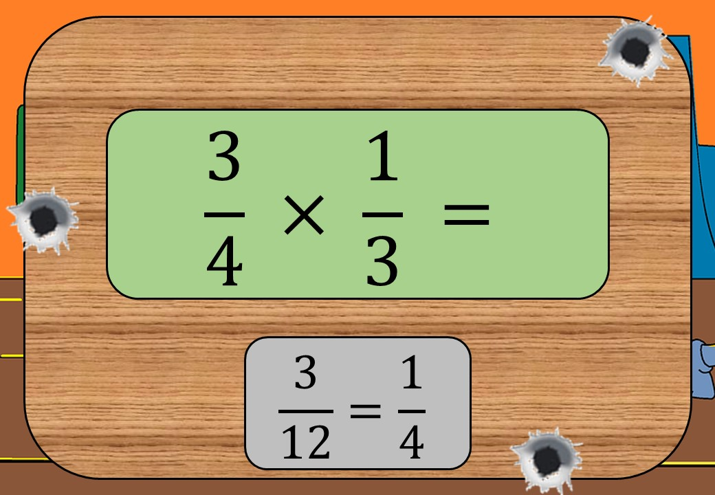 Fractions - Multiplying - Shootout