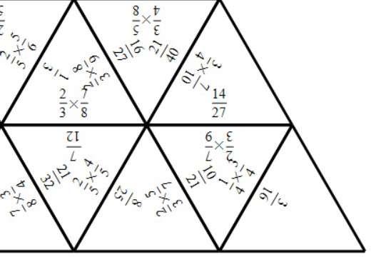 Fractions - Multiplying - Tarsia