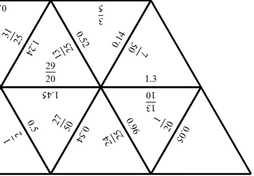 Fractions to Decimals - Tarsia