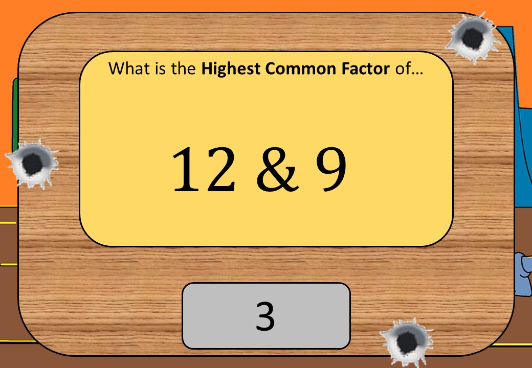Highest Common Factors - Listing - Shootout