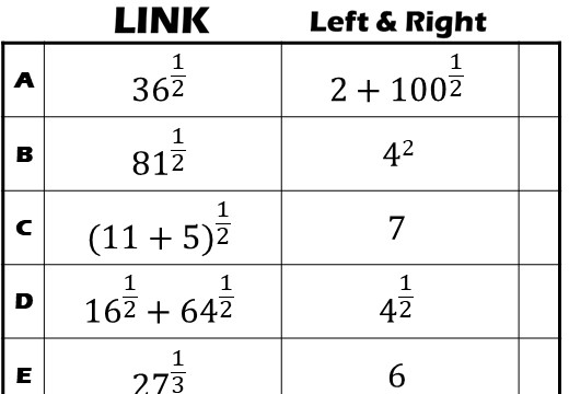 Indices - Fractional - Link