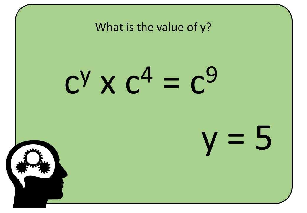 Indices - Multiplying & Dividing - Bingo OA