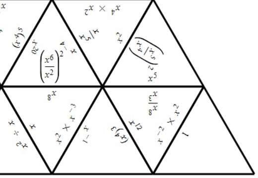 Indices - Multiplying & Dividing - Tarsia