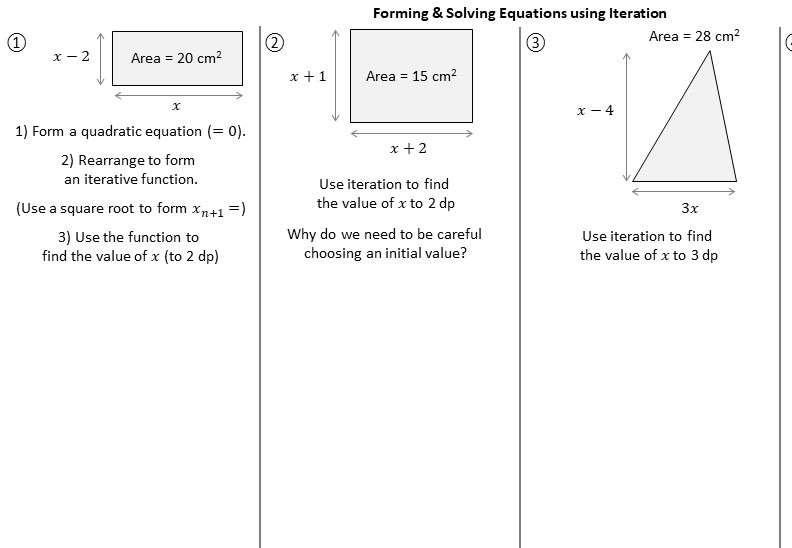Iteration - Worksheet B