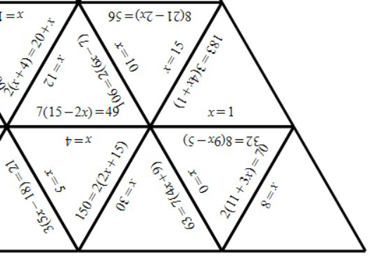 Linear Equations - Brackets - With Coefficients - Tarsia