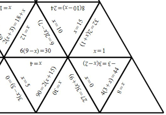 Linear Equations - Brackets - Without Coefficients - Tarsia