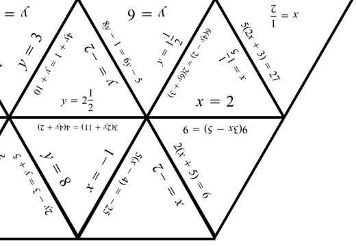 Linear Equations - Variable on Both Sides - Brackets - Tarsia