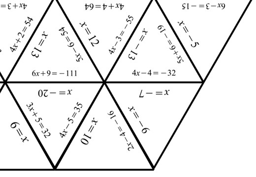 Linear Equations - Variable on One Side - 2-Step - Non-Calculator - Tarsia