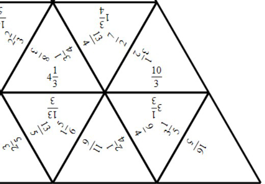 Mixed Numbers & Improper Fractions - Converting - Tarsia