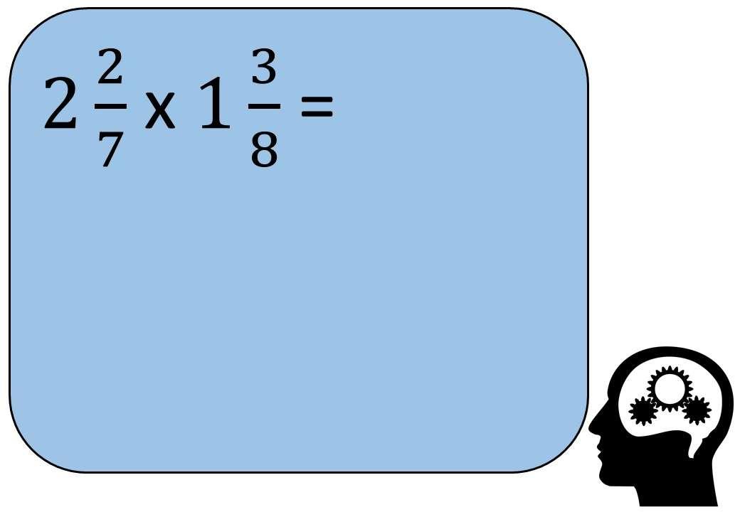 Mixed Numbers - Multiplying - Bingo M