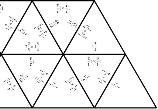 Mixed Numbers - Multiplying & Dividing - Tarsia