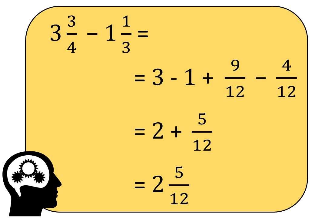 Mixed Numbers - Subtracting - Bingo M
